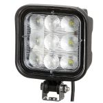 LUCIDITY 9 LED ARBEIDSLYS M/BUET GLASS 2160 LUMEN