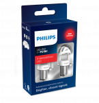 PHILIPS LED RØD 21/5W 2PK 12/24V